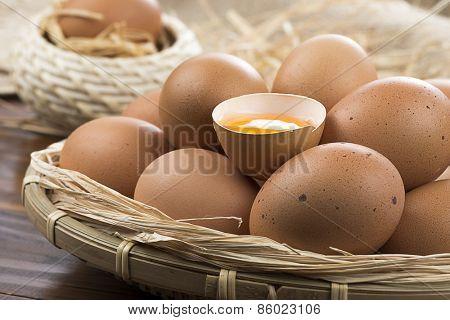 Half Egg Close up