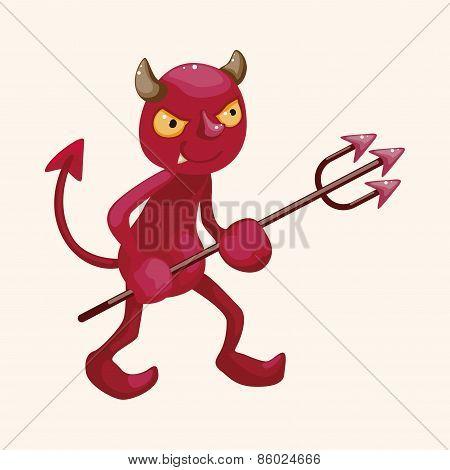 Devil Theme Elements