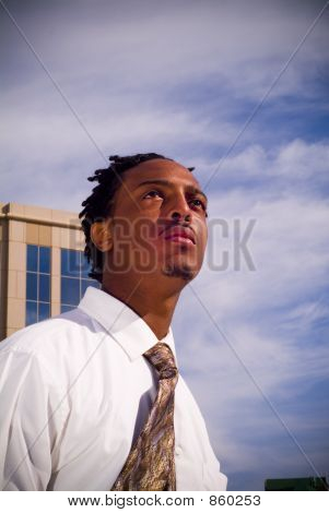 Young Black Businessman