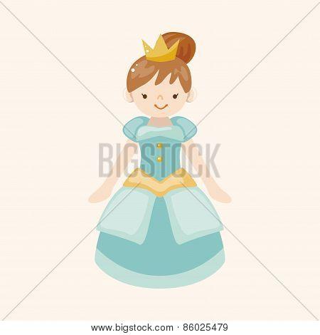 Royal Theme Princess Elements