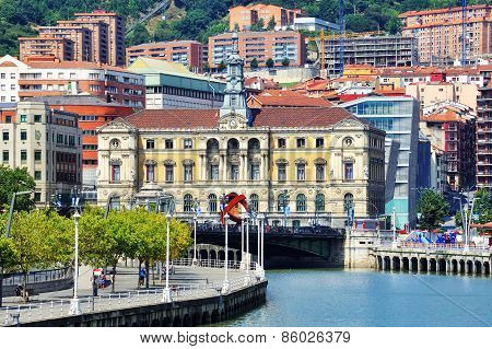 Bilbao City, Spain