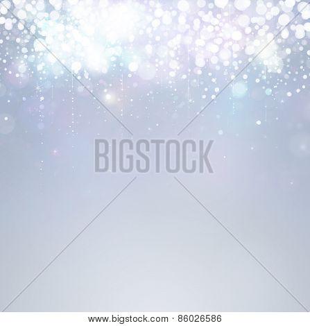 Silver Lights background