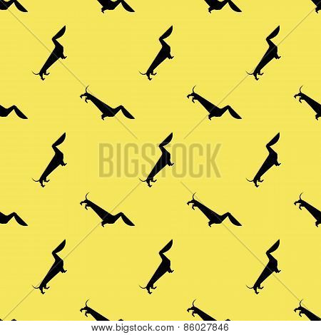 dog dachshund pattern