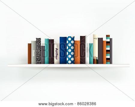 Book shelf.
