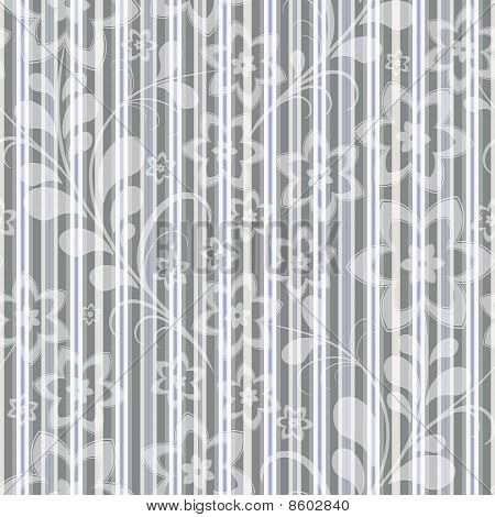Seamless Grey-blue Striped Pattern