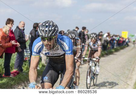 Blaz Jarc- Paris Roubaix 2014