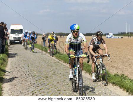 Michael Hepburn- Paris Roubaix 2014