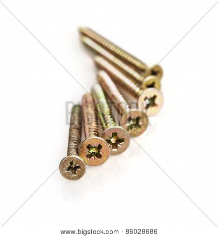 Isolated Metal Screws