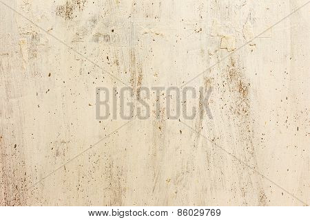 Dirty Concrete Wall With Streaks Of Water, Stains, Cracks And Scratches. Grungy Concrete Surface. Gr
