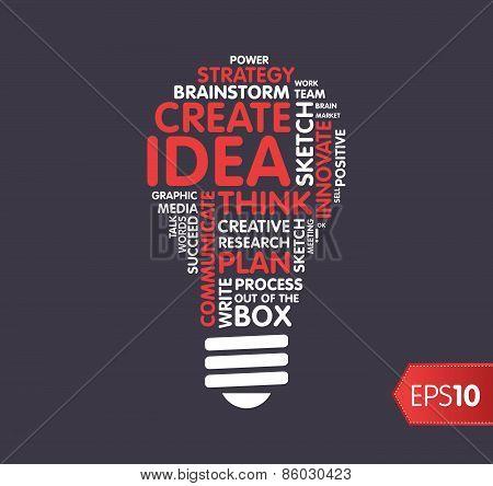 Idea, inspiration concept