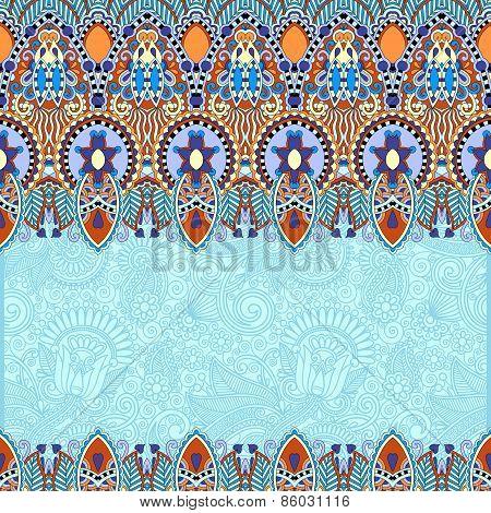 ornamental floral folkloric background