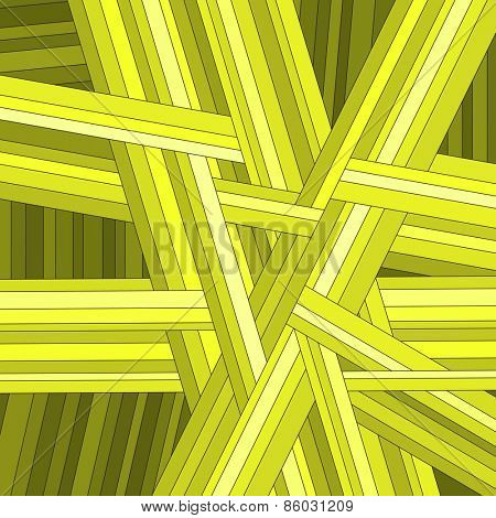 Yellow striped abstract background, vector eps10 illustration