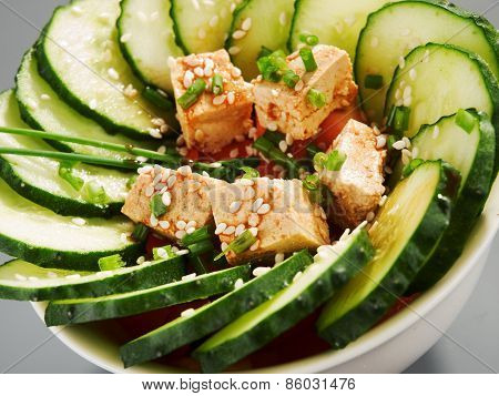 Healthy Chinese Cucumber Salad