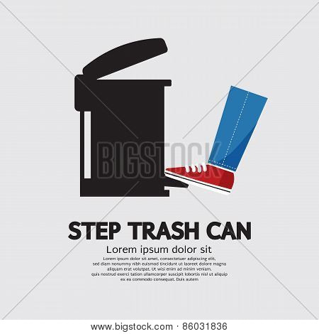 Step Trash Can.