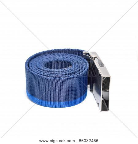 Blue Rolled Belt