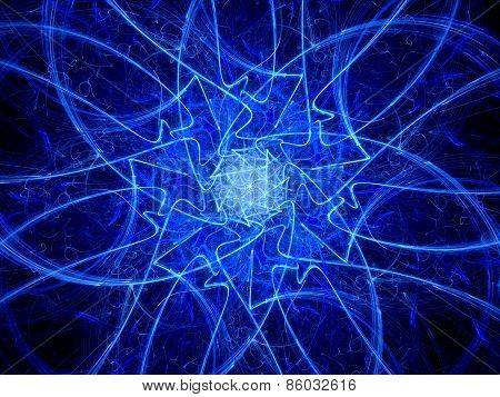 Magical Mysterious Shape In Space