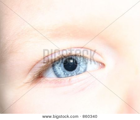 Child's Blue Eye