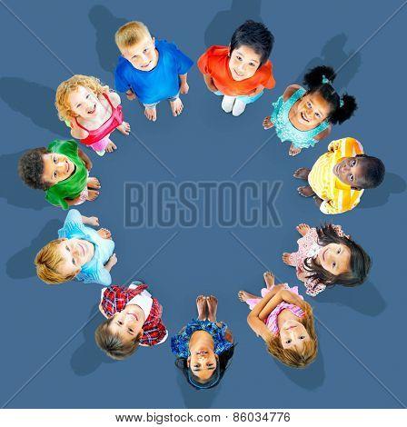 Chidren Kids Concept