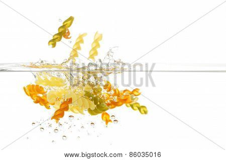 Pasta In Water