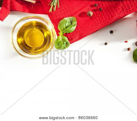 Freshness Food Ingredient with Copy Space