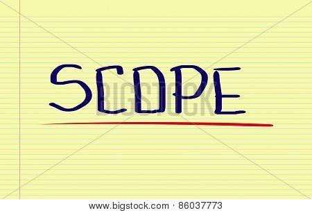 Scope Concept