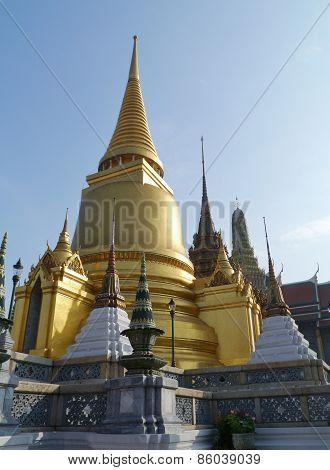 The royal palace in Bangkok