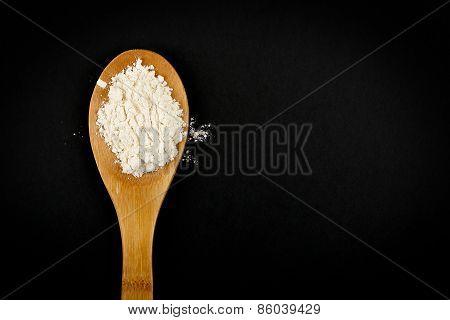 Ladle With Flour