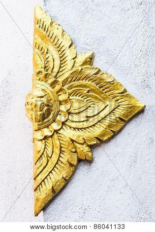 Golden Flower Stucco