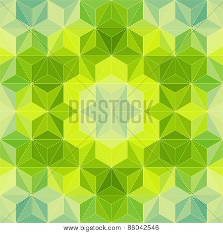 Vector Triangle Pattern. Vector Background