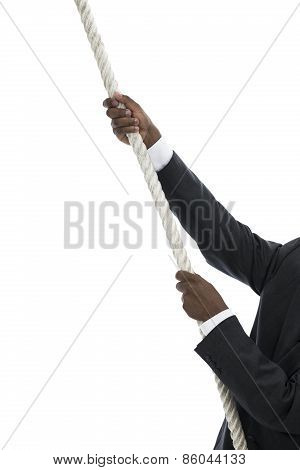 Businessman Climb Up