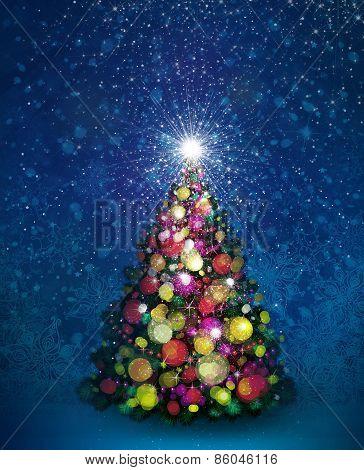 Christmas tree.