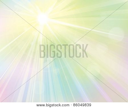 Vector shine colorful background.