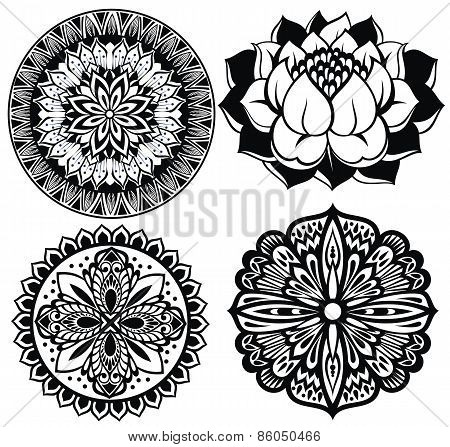 Collection of mandalas