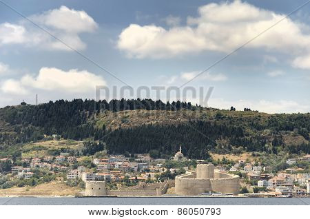 Kilitbahir Castle And Kilitbahir Town, Canakkale, Turkey