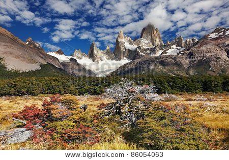 Mount Fitz Roy, Los Glaciares National Park, Patagonia, Argentina