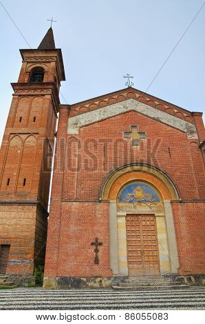 Church of St. Martino. Riva. Emilia Romagna. Italy.
