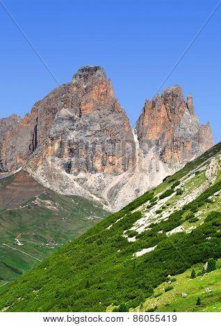 Sassolungo in Val di Fassa