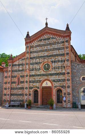 Church of Perino. Emilia-Romagna. Italy.