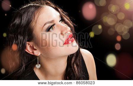 Portrait Of Beautiful Stylish Woman