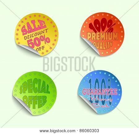 Set Of Labels05