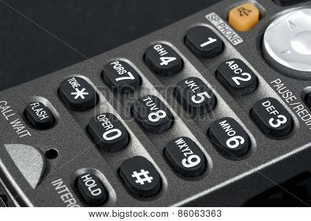 Landline Telephone Keypad
