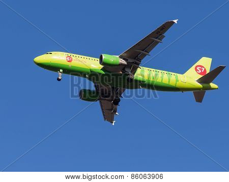 Airbus A320, Sibir S7 Airlines
