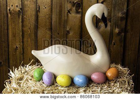 Wooden Swan