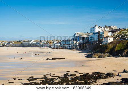 Porthmeor Beach St Ives Cornwall