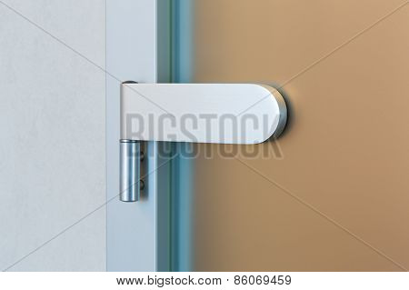 Modern Glass Door Hinge