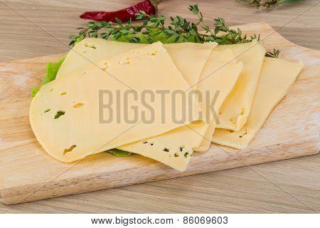 Sliced Cheddar