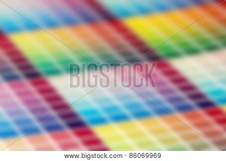 Defcused Very Colorful Abstract Pattern