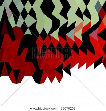 Field Drab Abstract Low Polygon Background