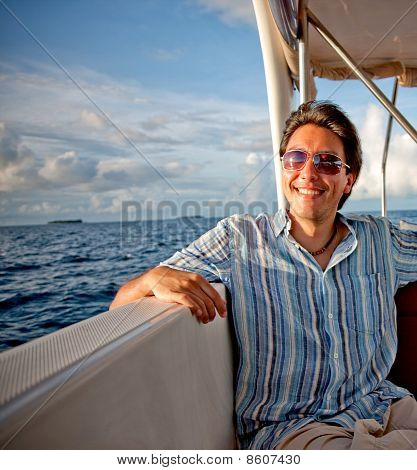 Man In A Yacht