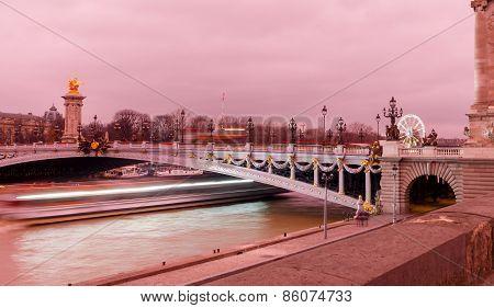 Paris. Pont Alexandre 3.